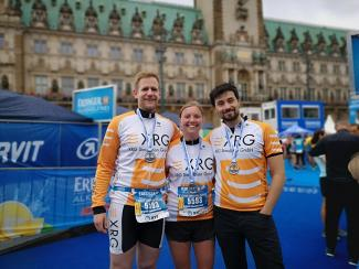 XRG's triathlon aces